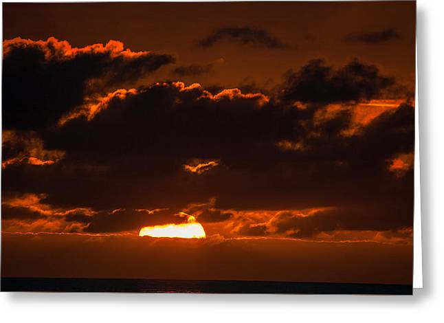 Florida Keys Sunrise Greeting Card