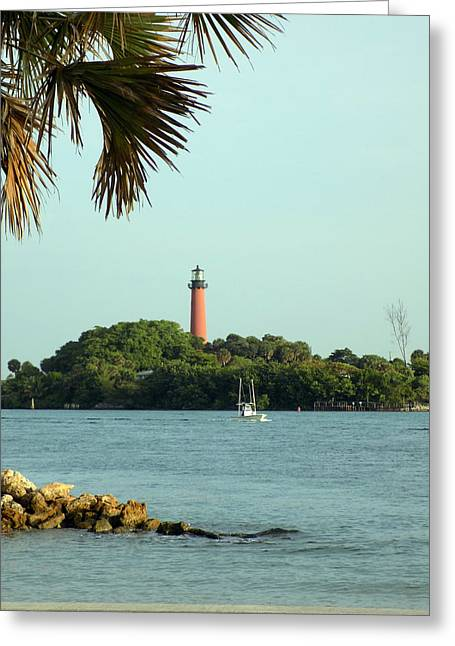 Florida Lighthouse 3 Greeting Card