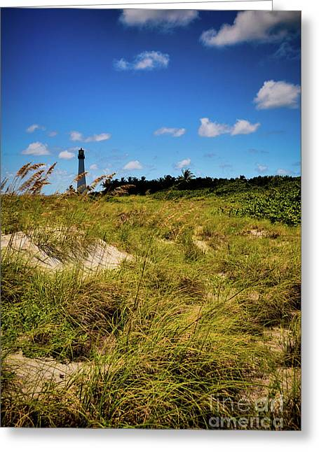 Greeting Card featuring the photograph Florida Lighthouse  by Kelly Wade
