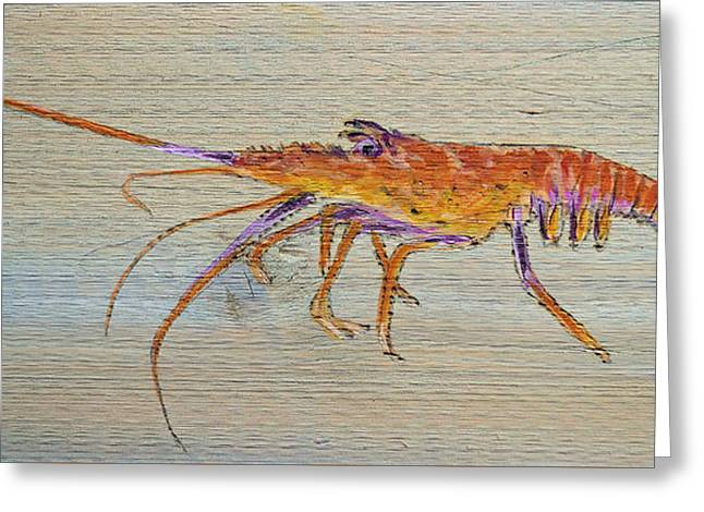 Florida Lobster Greeting Card