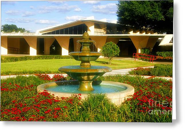 Florida Southern College Greeting Card by David Lee Thompson