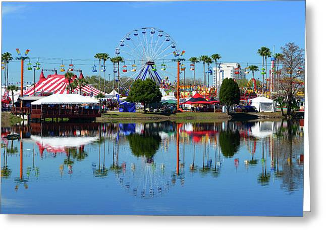 Greeting Card featuring the photograph Florida State Fair 2017 by David Lee Thompson