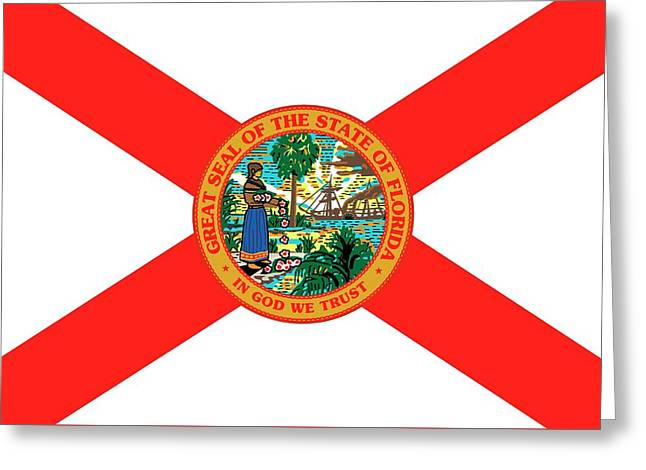 Florida State Flag Greeting Card