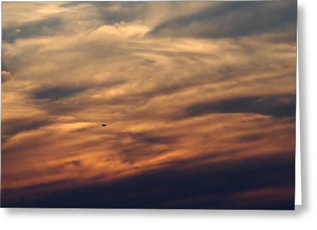 Florida Sunset 0052 Greeting Card