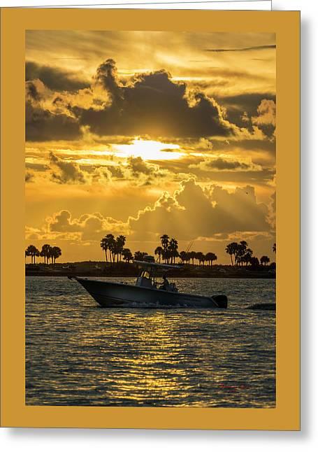 Florida Sunset-2 Greeting Card