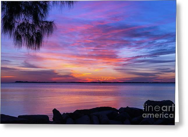 Florida Sunset #2 Greeting Card