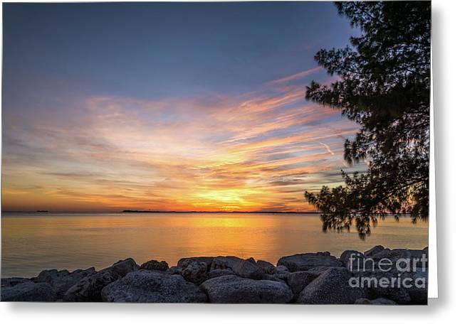 Florida Sunset #3 Greeting Card