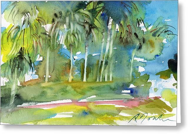 Florida Trip No.13 Greeting Card by Sumiyo Toribe