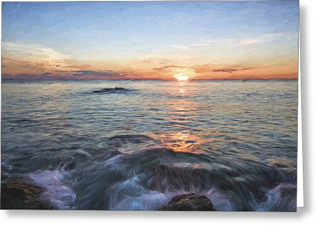 Florida's Last Moment II Greeting Card by Jon Glaser