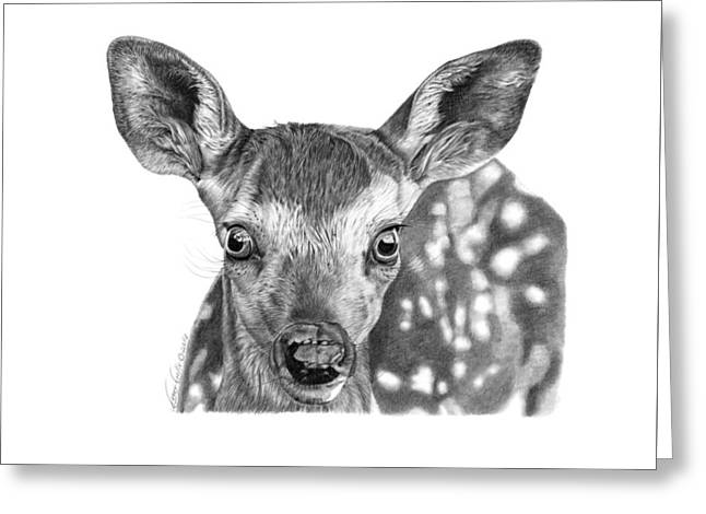 Florry The Fawn Greeting Card