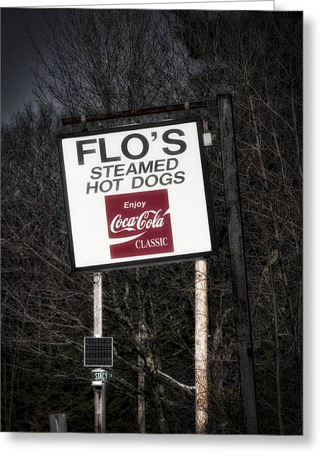 Flo's Hot Dogs - Cape Neddick - Maine Greeting Card