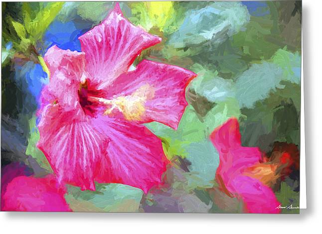 Flower 1 Greeting Card by Glenn Gemmell