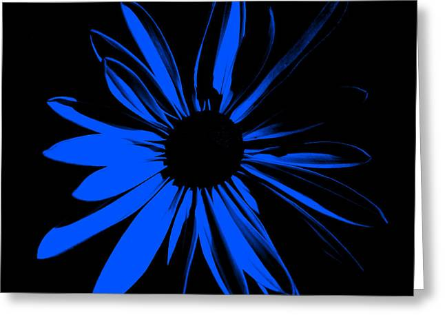 Greeting Card featuring the digital art Flower 4 by Maggy Marsh