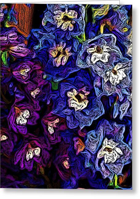 Flower Arrangement II Greeting Card by David Lane