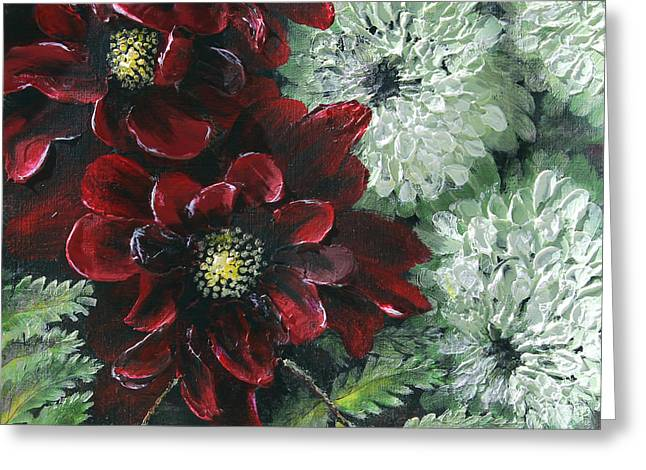 Flower Bouquet Greeting Card by Patricia Pasbrig
