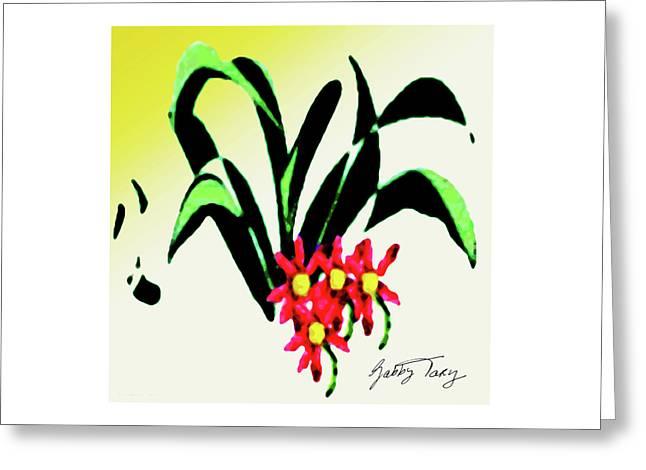 Flower Design #2 Greeting Card