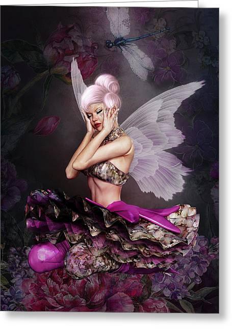 Flower Fairy 005 Greeting Card
