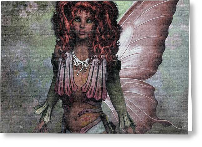 Flower Fairy 009 Greeting Card by G Berry