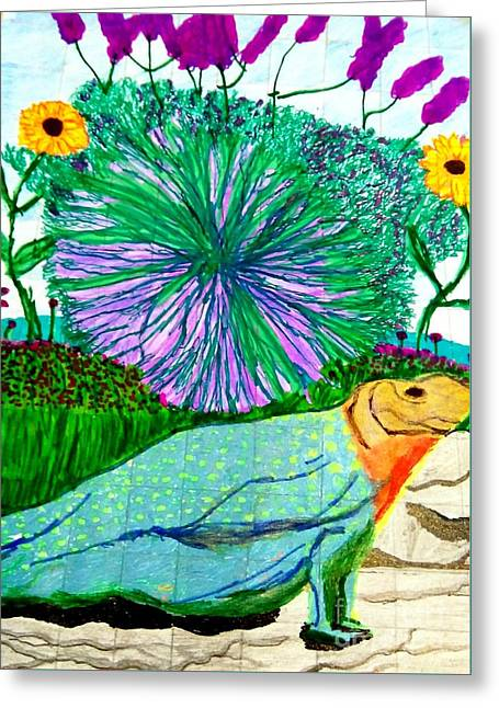 Flower Garden Life Greeting Card