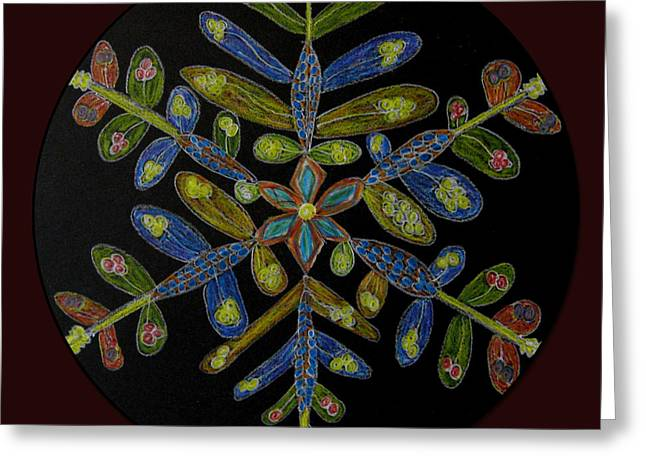 Flower Of Many Colors Greeting Card by Patricia Januszkiewicz