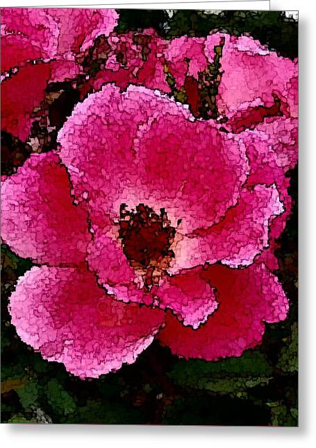 Flower Painting Collection 19 Greeting Card