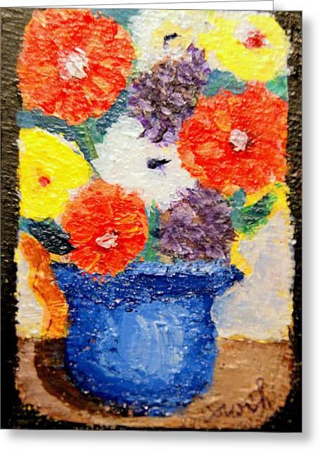 Flower Pot Greeting Card