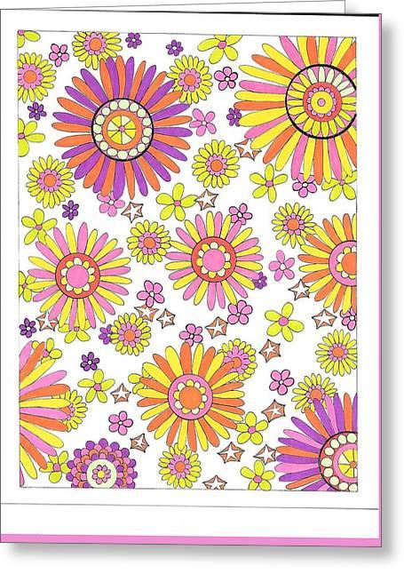 Flower Power 1 Greeting Card