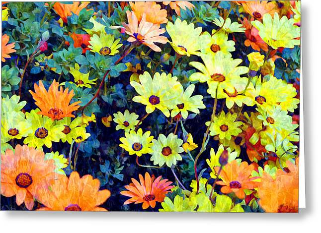 Greeting Card featuring the photograph Flower Power by Glenn McCarthy Art and Photography