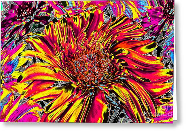 Flower Power II Greeting Card