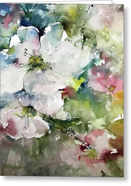 Flower Series 2017 Greeting Card