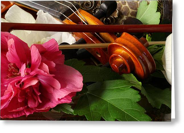 Flower Song Greeting Card