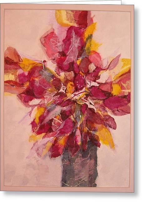 Flower Study Greeting Card by Lynn Babineau