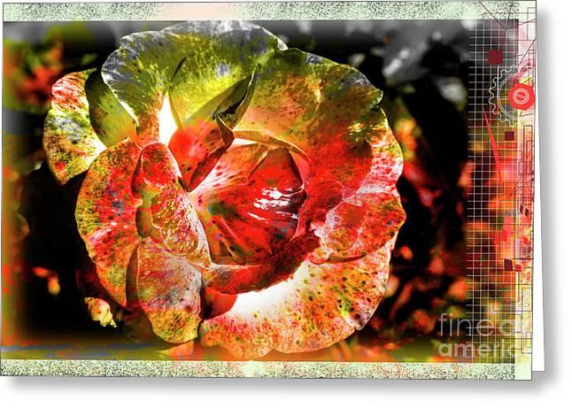 Flower Vector Greeting Card