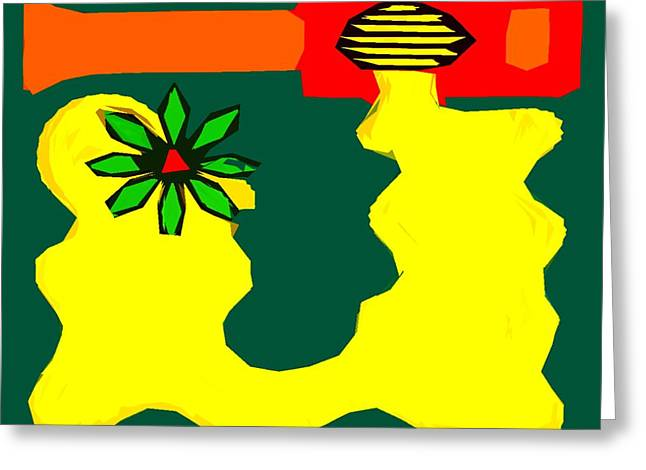Flowering Melody 2 Greeting Card by Patrick J Murphy