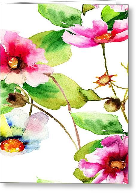 Flowers 03 Greeting Card