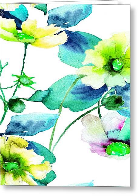 Flowers 08 Greeting Card
