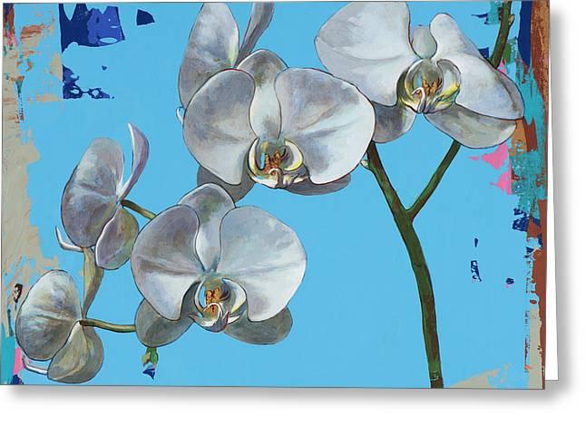 Flowers #15 Greeting Card by David Palmer