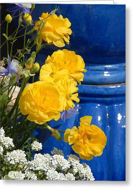 Flowers 187 Greeting Card by Joyce StJames