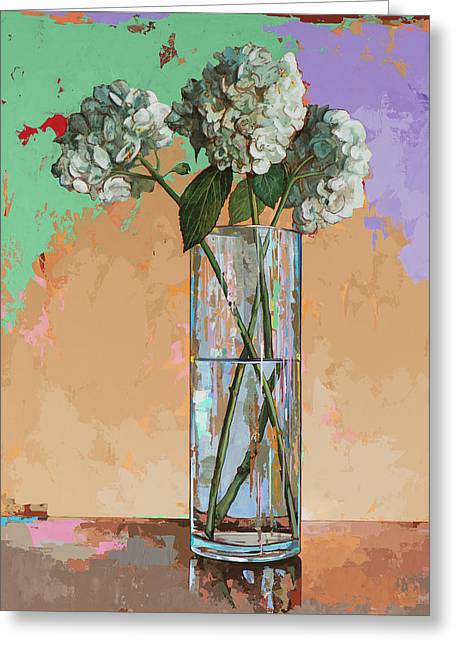 Flowers #20 Greeting Card by David Palmer