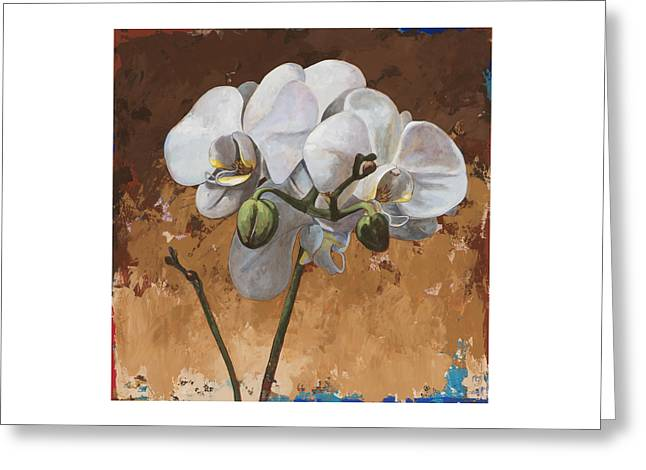 Flowers #7 Greeting Card by David Palmer