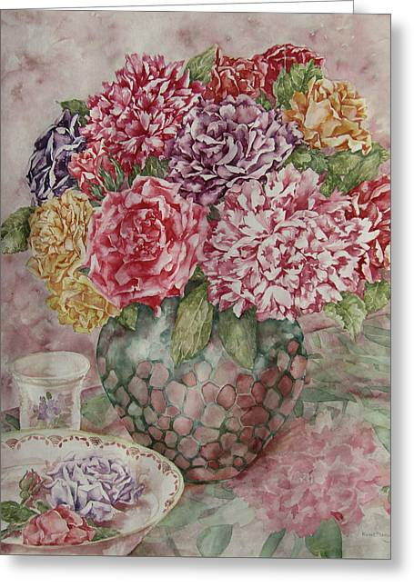 Flowers Arrangement  Greeting Card