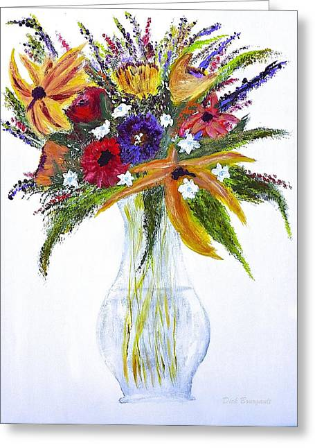 Flowers For An Occasion Greeting Card