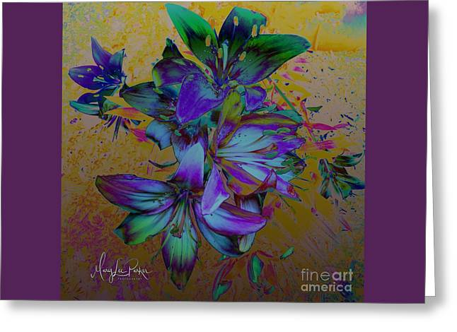 Flowers For The Heart Greeting Card