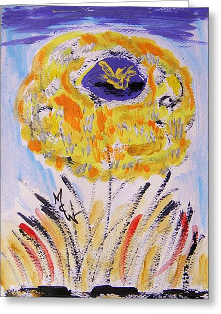 Flowers From The Flower Patch-dell Greeting Card by Mary Carol Williams
