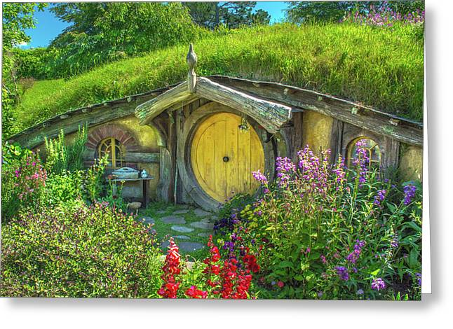 Flowers In The Shire Greeting Card