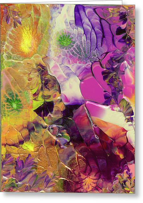 Flowers Of The Cosmic Sea Greeting Card
