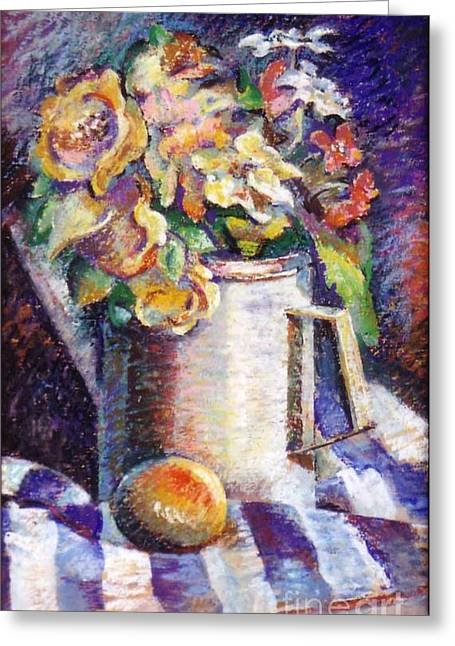 Flowers Greeting Card by Stan Esson