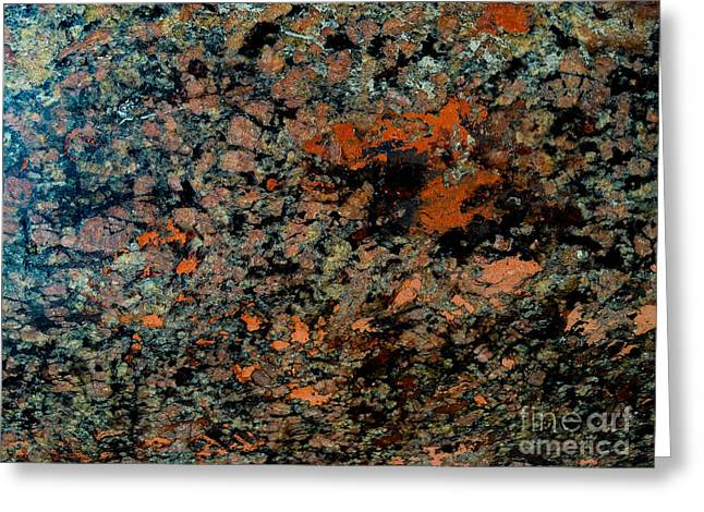 Flowing Rock Greeting Card by Joseph Yarbrough