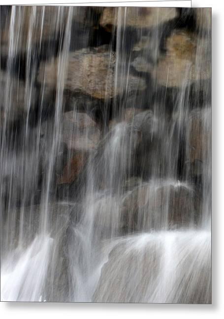Flowing Veil Greeting Card by Carol Groenen