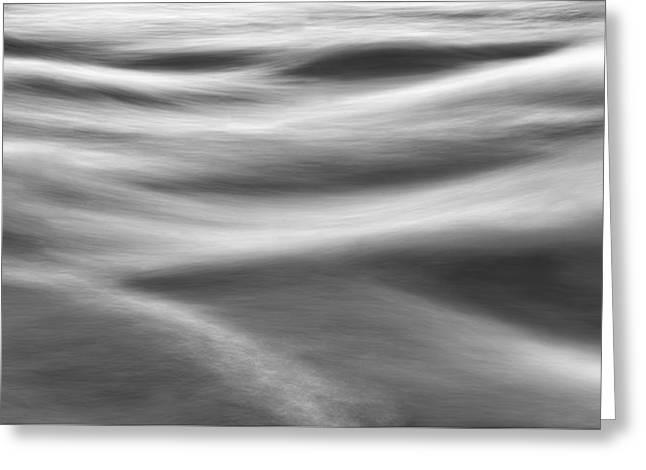 Flowing Water Greeting Card by Scott Norris